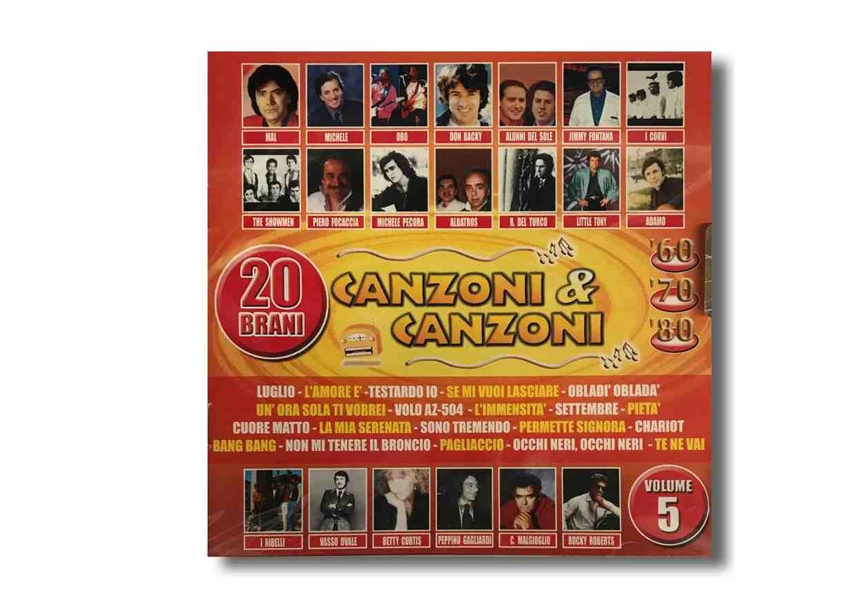 CD 5-8 CANZONI e CANZONI